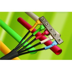 AlphaWire - F2213/16BL103 - Alpha Wire F2213/16 3/16in Diameter Heat-Shrink Tubing