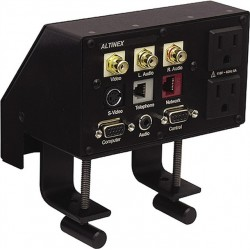 Altinex - TBL102 - Altinex TBL102 Table Buddy - Tabletop Interconnect Box - 2 x Power Receptacles - 110 V AC / 5 A Tabletop