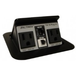 Altinex - TNP150C - Altinex Factory Configured, Customized Tilt 'N Plug Jr. 2+2