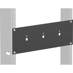 Atlas Soundolier - ATPLATEHR - Atlas IED Attenuator Rack Mounting Plate Holds up to 3 Attenuators in Half Width Rack