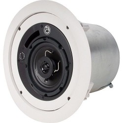 Atlas Soundolier - FAP42T - Atlas IED 4in Coaxial Ceiling Speaker with 70.7V/100V-16W Transformer And 8 Bypass