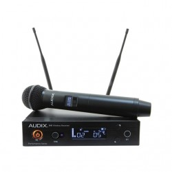 Audix - AP41OM5 - Audix Microphones R41 Diversity Receiver with H60/OM5 Handheld Transmitter