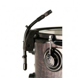 Audix - DVICEMICRO - Audix Microphones Flexible Mini-Gooseneck With Rim Mounted Drum Clamp and Shockmount Ring