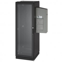 Black Box Network - CC42U8000M6-230-R2 - ClimateCab NEMA 12 Server Cabinet with M6 Rails and 8000-BTU AC Unit - 42U, 230V, 84H x 24W x 40D