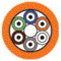 Belden / CDT - B9E014G75A500 - Belden B9E014 4 Fiber - Tight Buffer Breakout Cables (2.0mm subunits) - Plenum (OFNP)