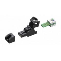 Belden / CDT - CAPFMUSS1 - Belden Field Mount Plug Cat6A UTP, Small AWG 24-26 Modular Connector