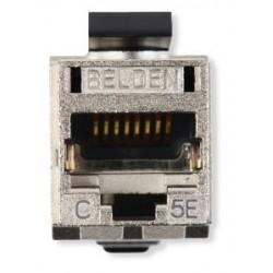 Belden / CDT - RV5MJKSMEB24 - Belden REVConnect Jack CAT5E Shielded Modular Connector