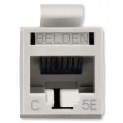 Belden / CDT - RV5MJKUALB24 - Belden REVConnect Jack CAT5E UTP Almond 1Pack