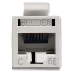 Belden / CDT - RV5MJKUEWS1 - Belden REVConnect Jack CAT5E UTP Almond 1Pack