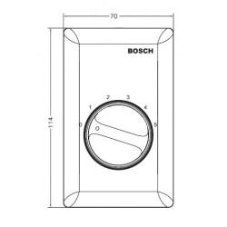 Bosch - F.01U.079.808 - Bosch Communications LBC1434/10US Volume Control and Program Selectors (US Version)