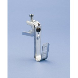 Caddy - CAT21BC200 - Caddy CAT21BC200 1-5/16in J-Hook assembled to screw-on bracket - 1/8in thru 5/8in Flange
