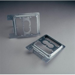 Caddy - MP2S - Caddy MP2S Double Gang Plate Mounting Bracket