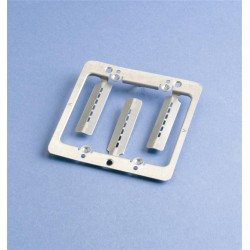 Caddy - MPLS2 - Caddy MPLS2 Double Gang Mounting Plate Bracket