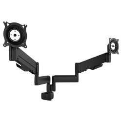 Chief - KPY220S - Chief KPY220 Height Adjustable Dual Arm Pole Mount, Dual Monitor