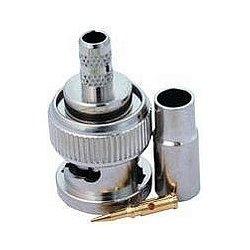 Amphenol - 112135 - Conn BNC PL 0Hz to 1GHz 75Ohm Crimp ST Cable Mount Gold (MOQ = 100)