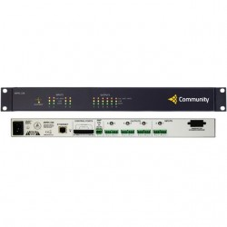 Community Pro Loudspeakers - DSPEC226 - Community Professional Loudspeakers 2x6 Networked Loudspeaker Processor