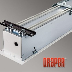Draper - 139037U - Access FIT-Series E, 94, 16:10, Matt White XT1000E, 110 V, with LVC-IV Low Voltage Controller