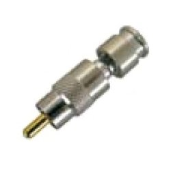 Holland Electronics - SLCRCAMINI25U - Holland Electronics SLCRCAMINI25U Mini Coax Series Connectors, RCA Male / Fixed Pin / 1 Piece / Universal