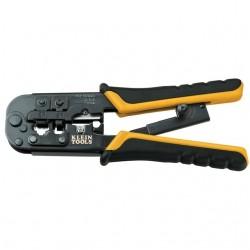 Klein Tools - VDV226011SEN - Klein VDV226011SEN All-in-One Ratcheting Modular Crimper and Stripper