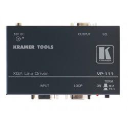 Kramer Electronics - VP-111 - Kramer VP-111 Video Extender - 1 Input Device - 2 Output Device - UXGA