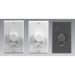 Lowell - 100LVCPADB - Lowell 100LVCPAD 100W Decora-Style Plastic Volume Control Attenuators, 3dB / 33dB