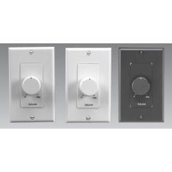 Lowell - 100LVCPADW - Lowell 100LVCPAD 100W Decora-Style Plastic Volume Control Attenuators, 3dB / 33dB