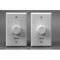 Lowell - 100LVCPASW - Lowell 100LVCPAS 100W Standard 1-Piece Plastic Volume Control Attenuators, 3dB / 33dB
