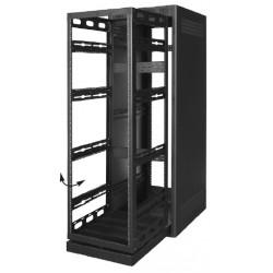 Lowell - LHRFD44P - Lowell LHRFD Host Rack - LHR Series - Front Door - Steel with Plexiglas