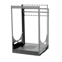 Lowell - LPTR19B4 - Lowell LPTR19 Pull and Turn Rack, Base Only, 19in Depth, No Rails
