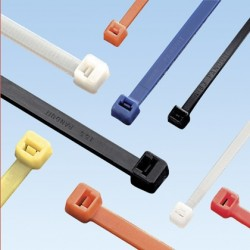 Panduit - PLT1M-M2 - Panduit PLT1MM Plenum Pan-Ty Color Cable Ties, 3.9in, Miniature Cross Section