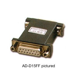 Pan Pacific - ADD9FF - Pan Pacific ADD9FF 9-Pin D-Sub Female to Female Standard Gender Changer