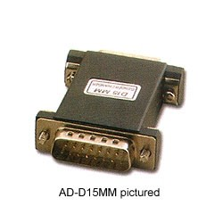 Pan Pacific - ADD9MM - Pan Pacific ADD9MM 9-Pin D-Sub Male to Male Standard Gender Changer