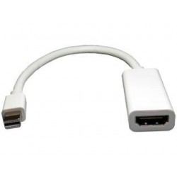 Pan Pacific - ADDSPNM/HDIF - Pan Pacific ADDSPNM/HDIF Mini Displayport Male to Female HDMI Adapter