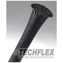 Techflex - CCP0.25BLK1000 - Techflex Clean Cut 1/4in Sleeving