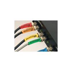 Techflex - H2N0.05BK.5 - Techflex H2N Shrinkflex 2:1 Polyolefin Heatshrink Tubing, Nominal Size 3/64in