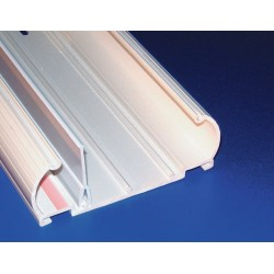 Hellermann Tyton - MCRFWBS10 - Hellermann Tyton MCRFWBS10 Raceway Base with Side Divider