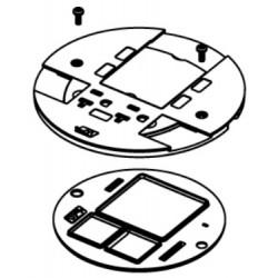 Wiremold / Legrand - AV3SHTCBK - Wiremold / Legrand AV3 Poke-Thru Slide Holder - Cable Guard - Black