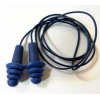 ASTI (Adaptive Sound Technologies) - EP-416 - Elvex Quattro EP-416 Fully Metal Detectable Reusable Ear Plugs Corded (NRR 27, SNR 34)