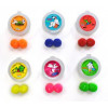 ASTI (Adaptive Sound Technologies) - PUTTYBUDDIES-RA - Putty Buddies FLOATING Colorful Soft Moldable Silicone Swimming Ear Plugs for Kids (1 Pair with Case - 7 Colors Available!)