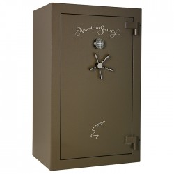 American Security Products - BF6024HD - BF Series - ETL 120 Minute Fire, U.L. Listed RSC Burglary, Combo Lock, PDO and Pull-Handle. BFHD safes have 4ga inner liner.