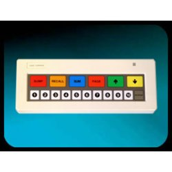 Logic Controls - KB1700B-BK-RJRJ - Kb1700 17ky Kypd W/rj-rj 6ftcbe /b Legend Sheet /black Color
