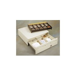 MMF Industries - 22612518138289 - Cash Drawer Media + 3 Slot 16w Ptr Drv Keyed Alike No Bell Putty