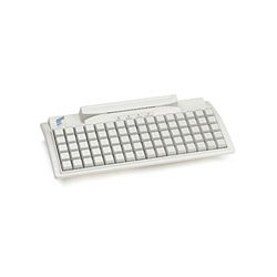 PrehKeyTec - 90318-003/0800 - 80 Key Compact Kb White W/msr Ps/2 Cable Included + Keylock