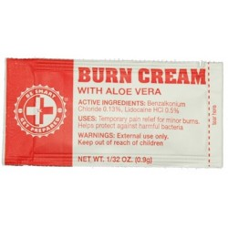 Guardian Survival Gear - FABC CS - 100 Burn Cream Packets
