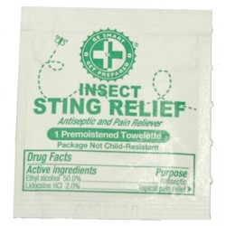 Guardian Survival Gear - FASR CS - 100 Sting Relief Prep Pads