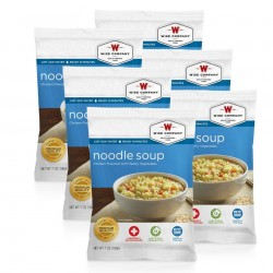 Guardian Survival Gear - FSCN6 - NEW Chicken Noodle Soup Cook in the Pouch - 6 PACK