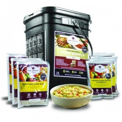 Guardian Survival Gear - FSEB120 - NEW 120 Serving- Entree Only Grab n' Go Bucket
