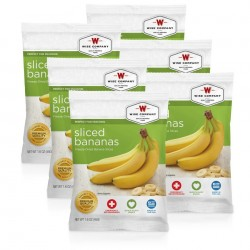 Guardian Survival Gear - FSSB6 - NEW Sliced Bananas - 6 PACK