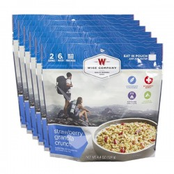 Guardian Survival Gear - FSSG6 - NEW Outdoor Strawberry Granola Crunch - 6 PACK