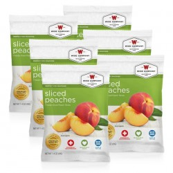 Guardian Survival Gear - FSSP6 - NEW Sliced Peaches - 6 PACK